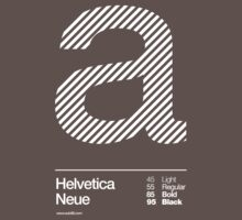 a .... Helvetica Neue by sub88
