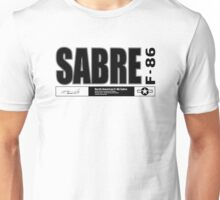 Sabre F-86 Fighter Unisex T-Shirt
