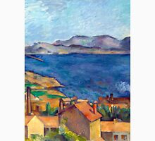 1885 - Paul Cezanne - The Bay of Marseilles, Seen from L'Estaque Unisex T-Shirt