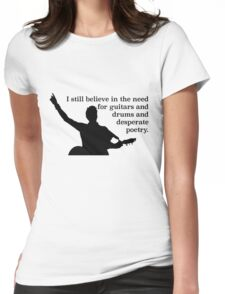 I Still Believe - Frank Turner Womens Fitted T-Shirt