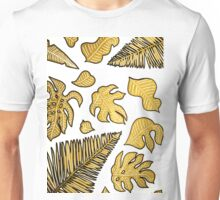 Golden leaves Unisex T-Shirt