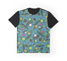 Space & Sweets Textile Graphic T-Shirt