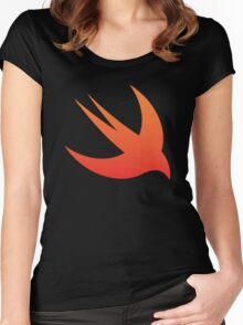 Swift 01 Women's Fitted Scoop T-Shirt
