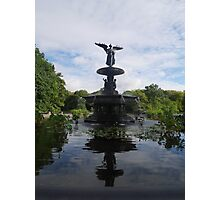 Reflections at Bethesda Fountain Photographic Print