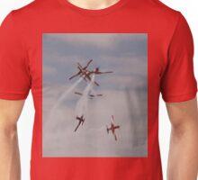 Roulettes Formation Break, Point Cook Airshow, Australia 2014 Unisex T-Shirt