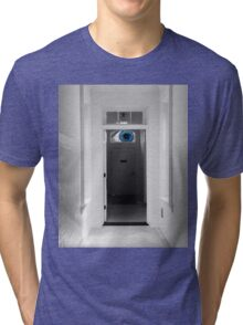 Peeking in the door Tri-blend T-Shirt