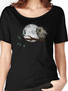 Moonlit Owl Women's Relaxed Fit T-Shirt