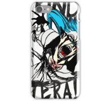 Grind, Pantera! Manga Print iPhone Case/Skin