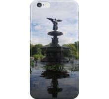 Reflections at Bethesda Fountain iPhone Case/Skin