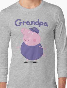 grandpa pig Long Sleeve T-Shirt