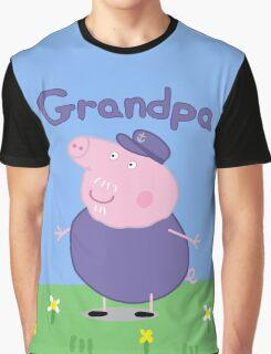 grandpa pig Graphic T-Shirt