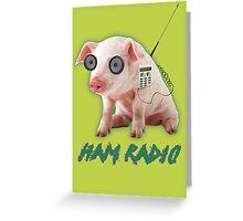 Ham Radio Greeting Card