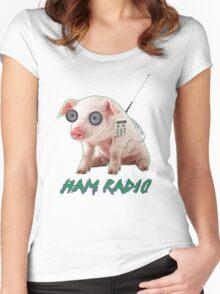 Ham Radio Women's Fitted Scoop T-Shirt