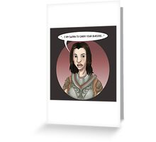 Housecarl Lydia Greeting Card