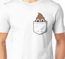 Pocket Poop Emoji Unisex T-Shirt