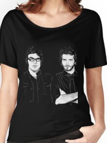 FOTC Transparent and White Women's Relaxed Fit T-Shirt