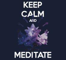 Keep Calm and Meditate! Kids Tee