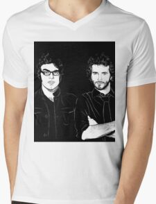 Bret? Present. Jemaine? Present. Mens V-Neck T-Shirt