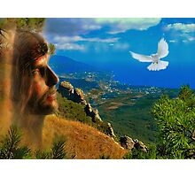 Christ so suffered and died for all of us Photographic Print