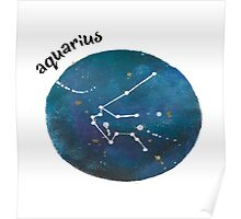 aquarius galaxy Poster