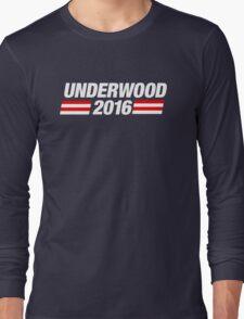 Underwood 2016 - White Long Sleeve T-Shirt