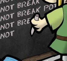 Hylian Detention Sticker