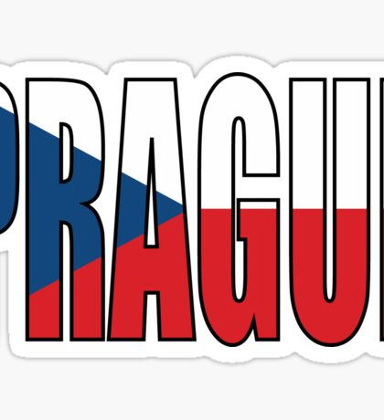 Prague. Sticker