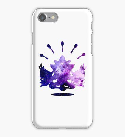 Cosmic Mega Alakazam! iPhone Case/Skin