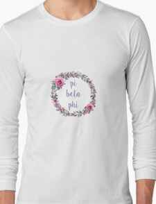 Pi Beta Phi Long Sleeve T-Shirt