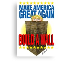 TRUMP's WALL Canvas Print