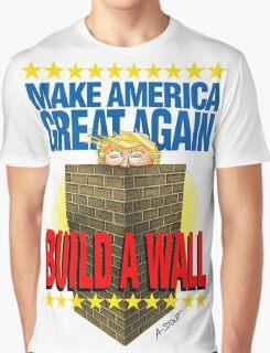 TRUMP's WALL Graphic T-Shirt