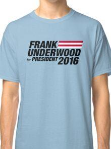Frank Underwood - Black Classic T-Shirt