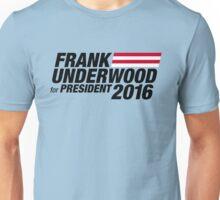 Frank Underwood - Black Unisex T-Shirt