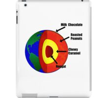 Earth Layers Chocolate Nougat Center iPad Case/Skin