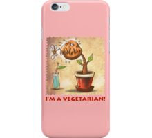vegetarian plant iPhone Case/Skin