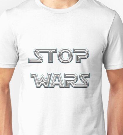 Stop wars star wars fashion  Unisex T-Shirt