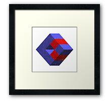 Geometric design elements Framed Print