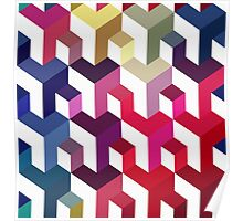 Seamless abstract pattern Poster