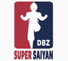 Super Saiyan One Piece - Short Sleeve