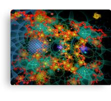 Colorful Static Canvas Print