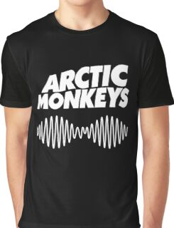 Arctic Monkeys - White Graphic T-Shirt