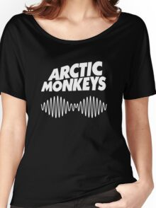 Arctic Monkeys - White Women's Relaxed Fit T-Shirt