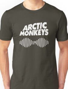 Arctic Monkeys - White Unisex T-Shirt