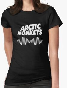 Arctic Monkeys - White Womens Fitted T-Shirt