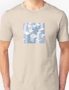 Rooftops skyscrapers Unisex T-Shirt