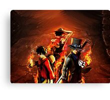 One Piece: Brothers for Life Canvas Print