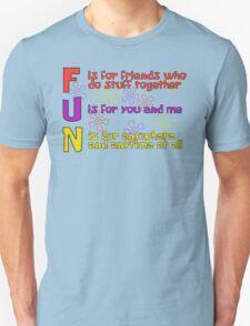 F.U.N Song (Spongebob Version) - Spongebob Unisex T-Shirt