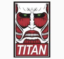 Obey The Titan  Kids Tee