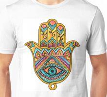 Rainbow Hamsa Hand Unisex T-Shirt