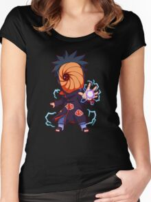 OBITO MADARA Women's Fitted Scoop T-Shirt